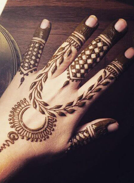 arabic latest mehandi designs simple