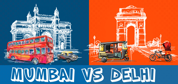 Mumbai Vs. Delhi