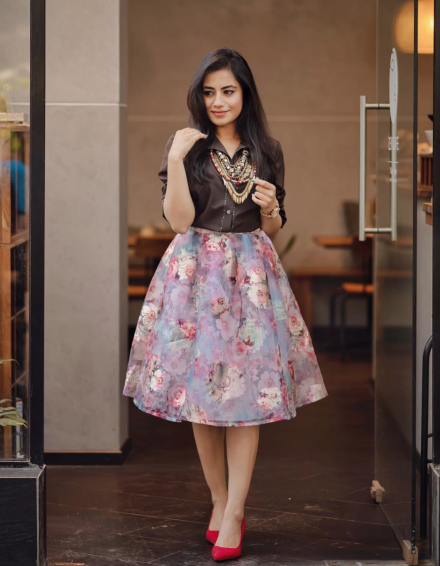 Flared Florals
