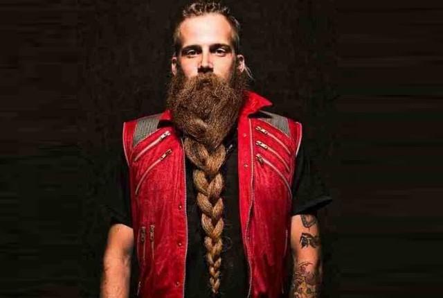 The Braid Beard Style