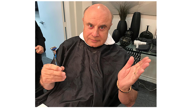 Did Dr. Phil Shave?