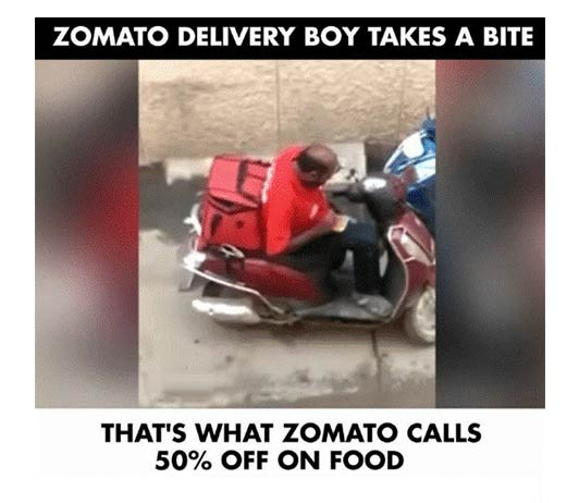 Zomato Meme