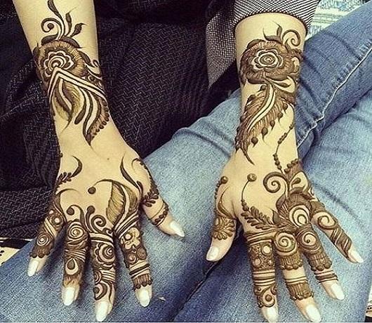 Khafif mehndi style