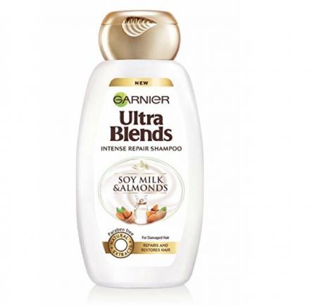 Garnier Ultra Blends Soy Milk and Almonds Shampoo