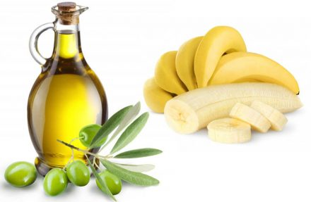 Banana And Olive Oil Hair Mask