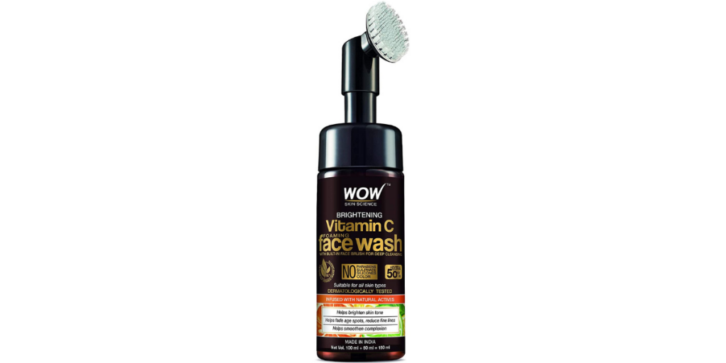 WOW Skin Science Brightening Foaming Face Wash