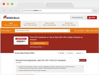 Click on a Cashback Deal You Like